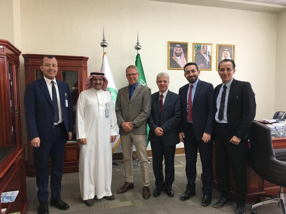 From left: Dr. Abdelali Haoudi, Dr. Ahmed Alaskar, Dr. Vladimir Misik, Tamer Elmahallawy, Hany Khalifa, Raed Abdulrazek
