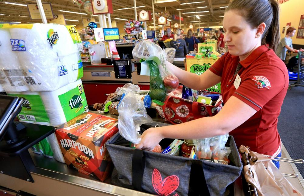 Teacher Who Works At Supermarket To Vie For Us Bagging Prize