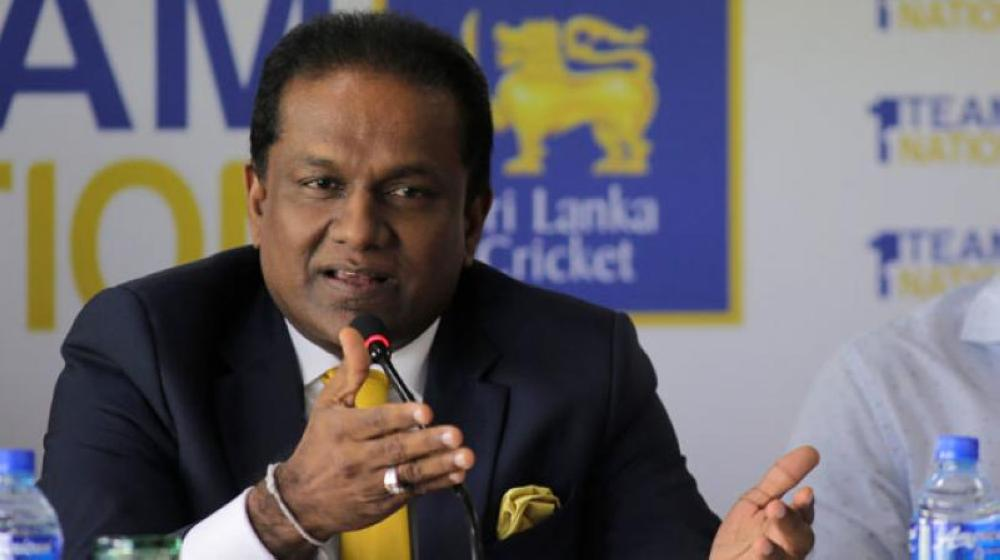 SLC chief Thilanga Sumathipala, who will accompany the team to Lahore for the T20 series finale, is seen in this file photo.