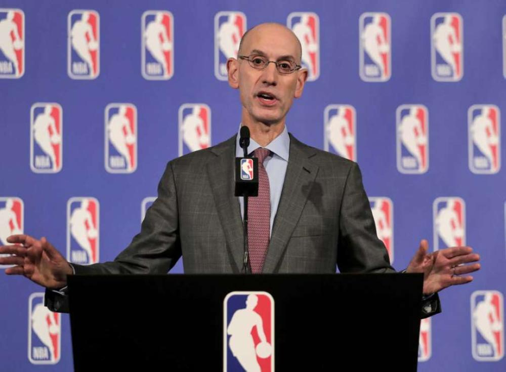 NBA Commissioner Adam Silver, seen in this file photo, believes great teams are good for business.