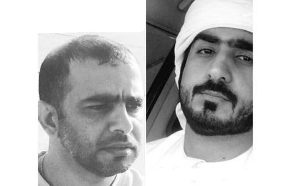 Al Mesmari (L) and Al Marashdeh