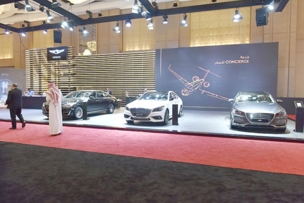 Genesis G80 Sport  at EXCS 11 in Riyadh