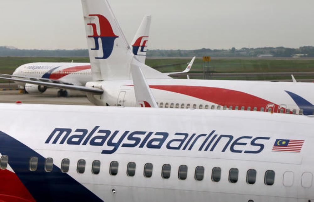 File photo of Malaysia Airlines planes parked at Kuala Lumpur International Airport.