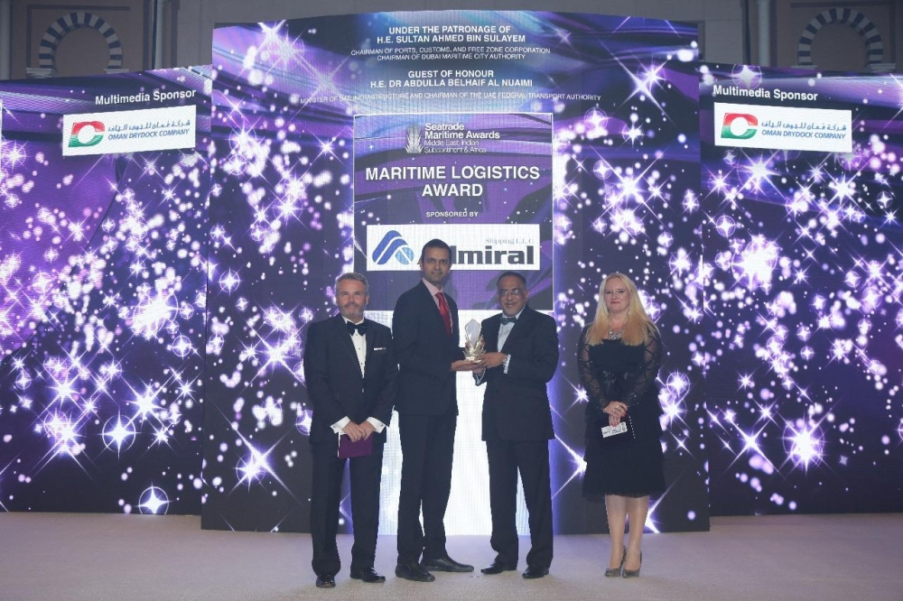 The award is a recognition of Tusdeer's consistent track record of cooperation and partnership with port authorities and cargo terminal operators in helping customers achieve the highest levels for ease of doing business