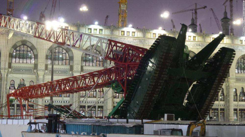 No blood money for Makkah crane crash victims