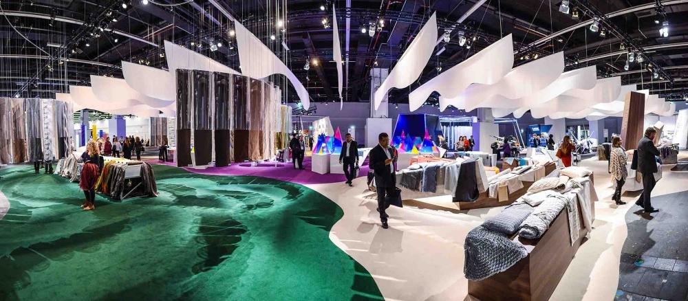 Around 250 international design studios presents their new designs at Heimtextil