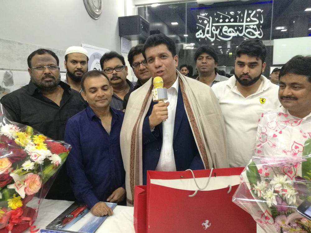 Riyadh Indian community fetes Khaleeq Ur Rahman - Saudi Gazette