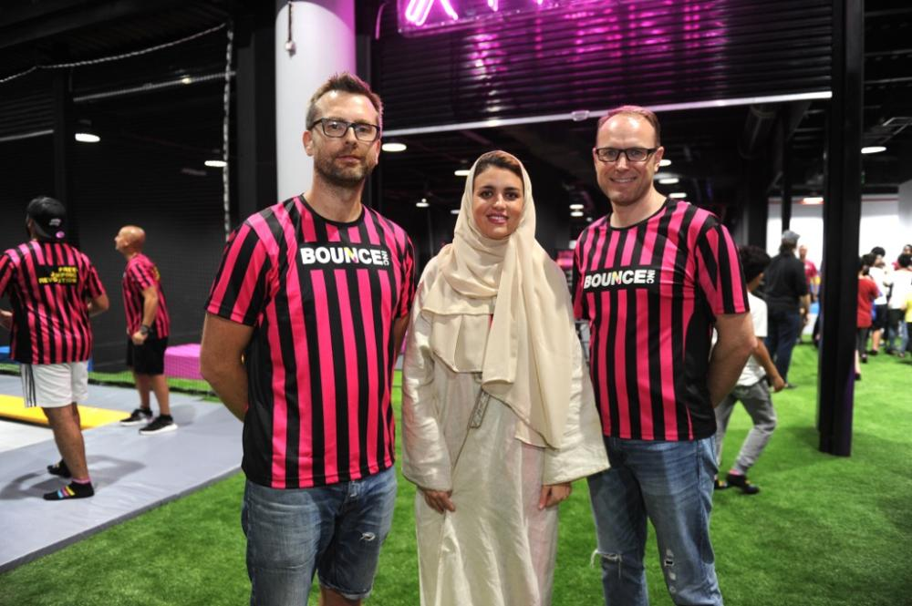 BOUNCE Jeddah opens; gives enthusiasts an adrenaline rush