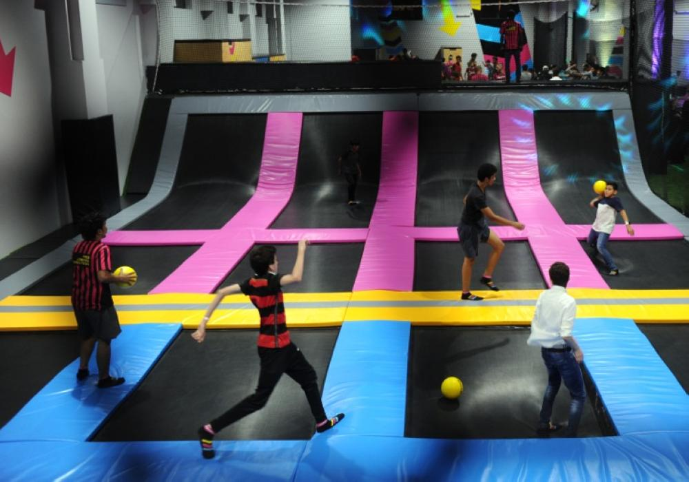 BOUNCE has installed over 100 trampolines with 12,000 springs