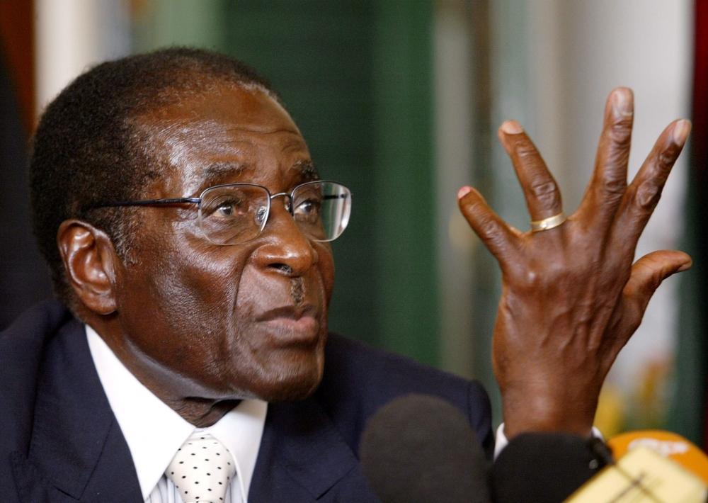 Zimbabwe President Robert Mugabe. — Reuters