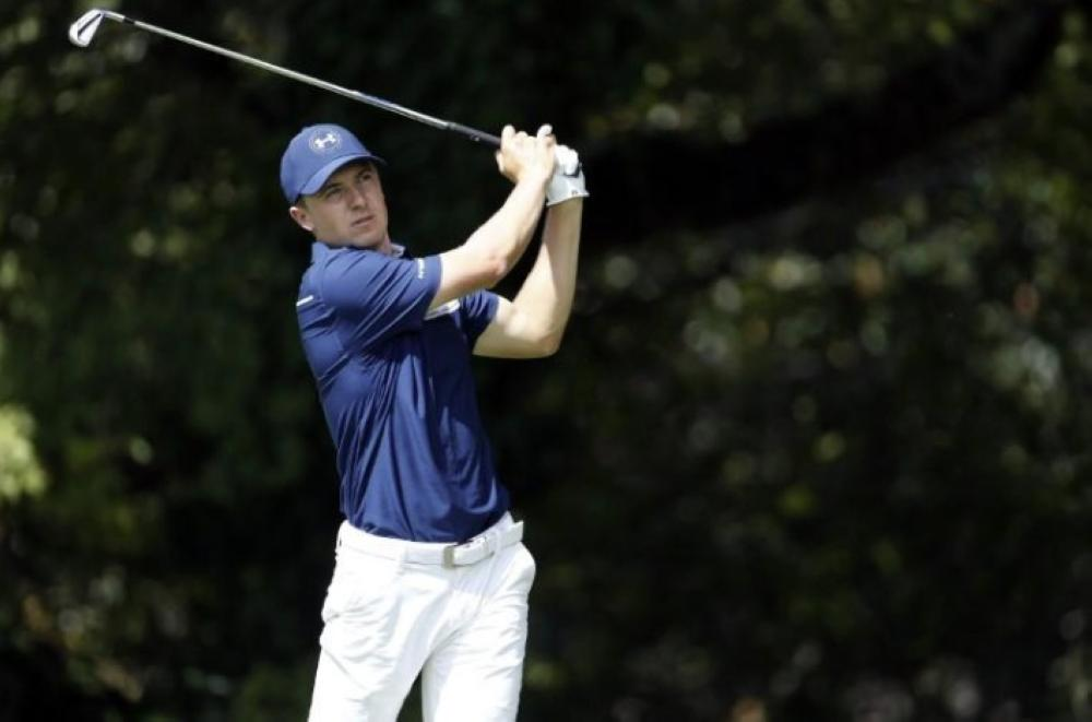 Jordan Spieth follows his shot from the second tee during the final round of the Tour Championship golf tournament at East Lake Golf Club. Brett Davis in this file photo. — Reuters