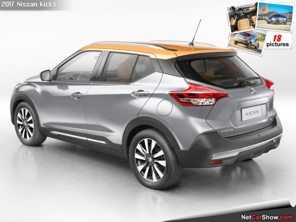 New Nissan Kicks voted best compact-SUV in 2017