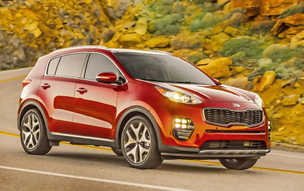 2018 Kia Soul, Sportage receive good ratings in all five IIHS crashworthiness tests and a superior rating for optional front crash preventio