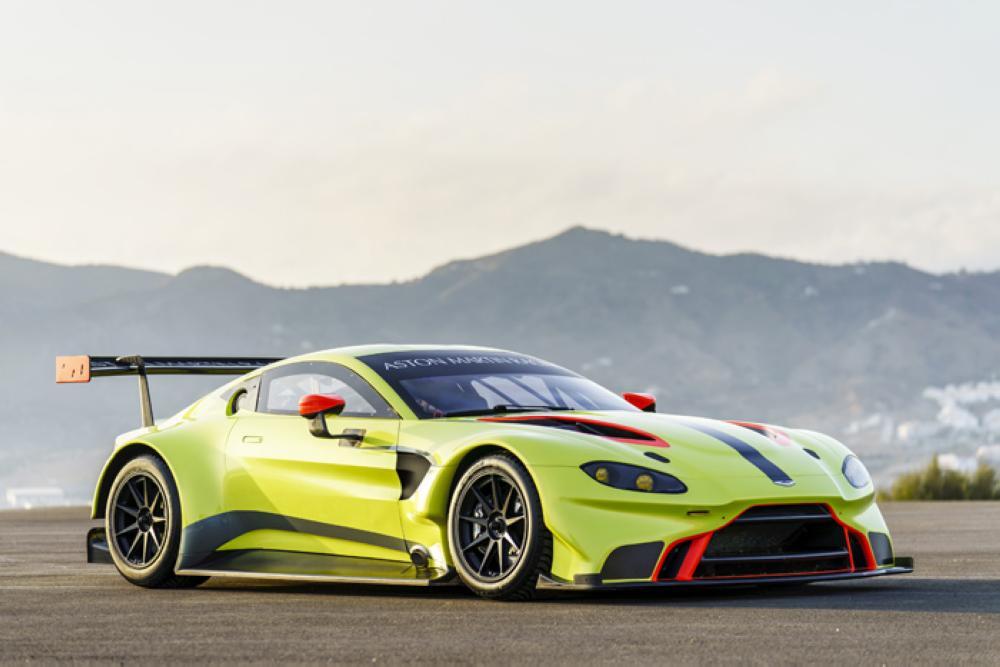 New Vantage road car forms basis of Aston Martin Racing's 2018 WEC challenger