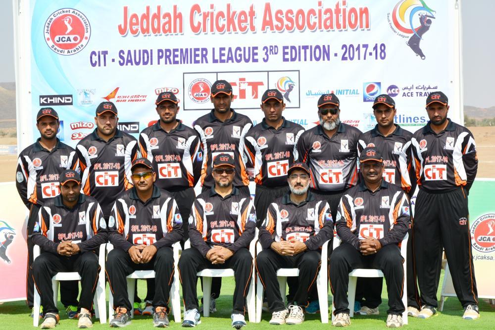 Hyderabad Sharks Team Group Photo