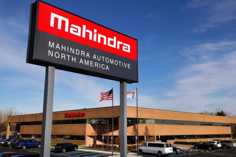 Indian conglomerate Mahindra Group is opening an automotive manufacturing facility in Detroit. — AP