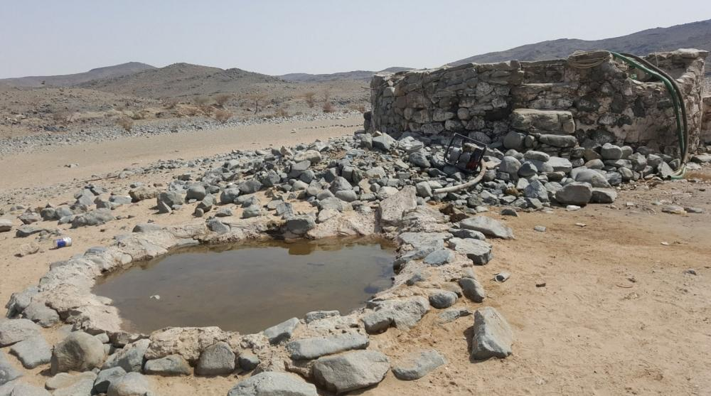 The well at the site of the ancient Majanna market in Makkah.