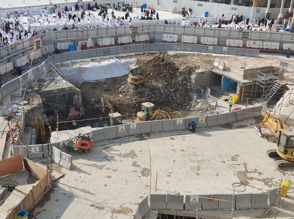36% of Zamzam well restoration work completed