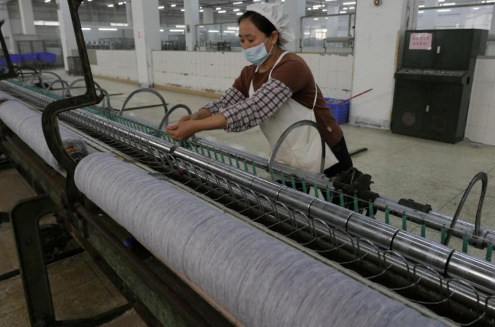 Chinese manufacturing posts weakest reading in five month in private survey