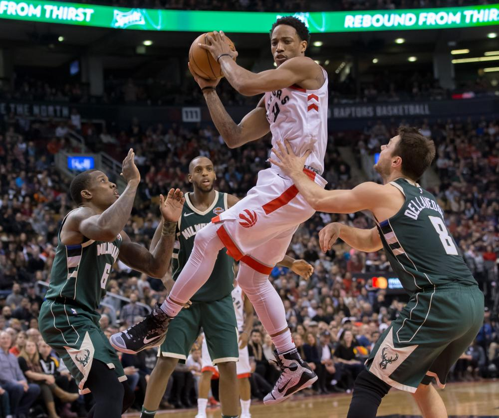 NBA Predictions: Will DeRozan, Raptors race past Bucks? 1/1/18