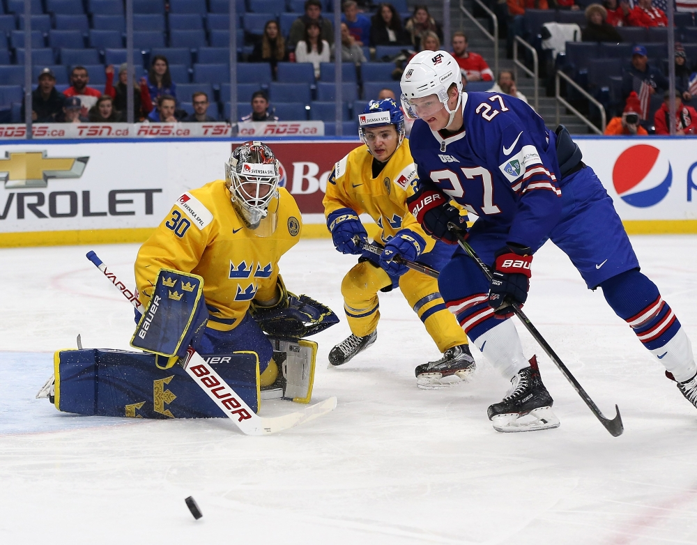 Poehling, Team USA fall to Sweden in semi-final matchup