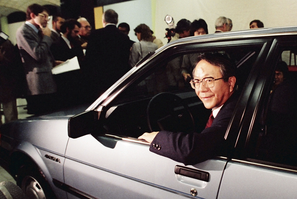 Former president of Japan's Toyota dies at 88