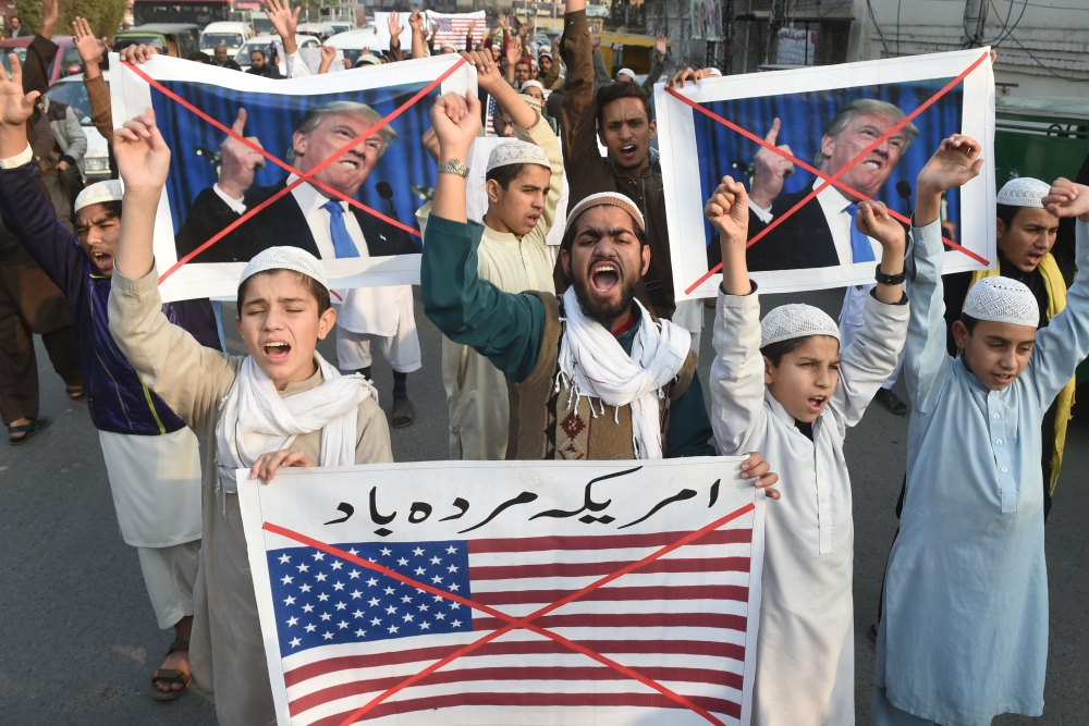 Security aid to Pakistan suspended by US