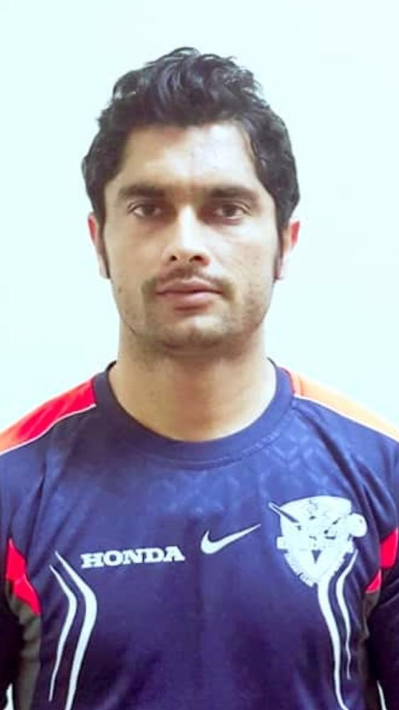Kashif Abbas — 57 runs and 3 for 28