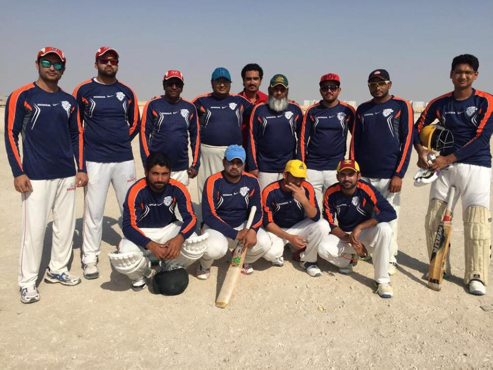 Champion Honda Cricket Club team