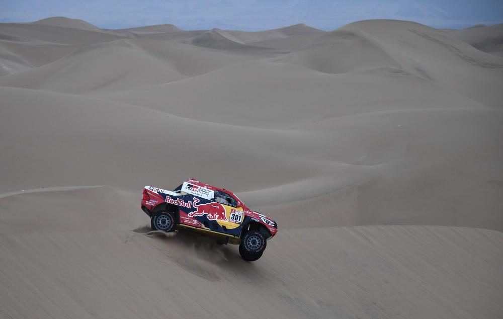 Dakar Rally: Leader Sam Sunderland retires from race