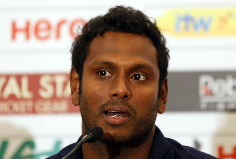 Angelo Mathews reappointed as Sri Lanka's limited overs captain