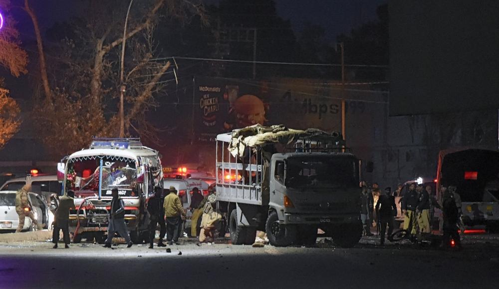 Motorcycle bomber kills 6 near Balochistan Assembly