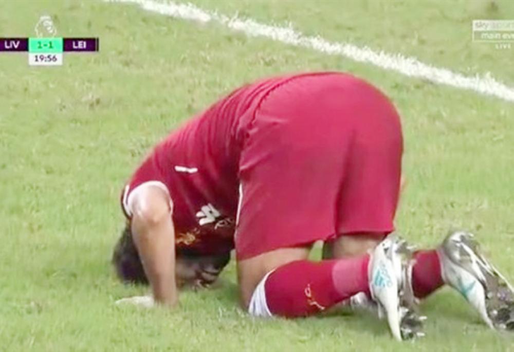 Rising muslim soccer star