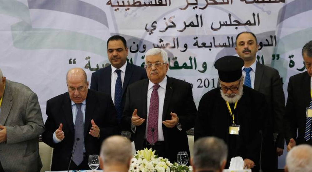 Abbas at Central Council calls for revision of agreements with Israel