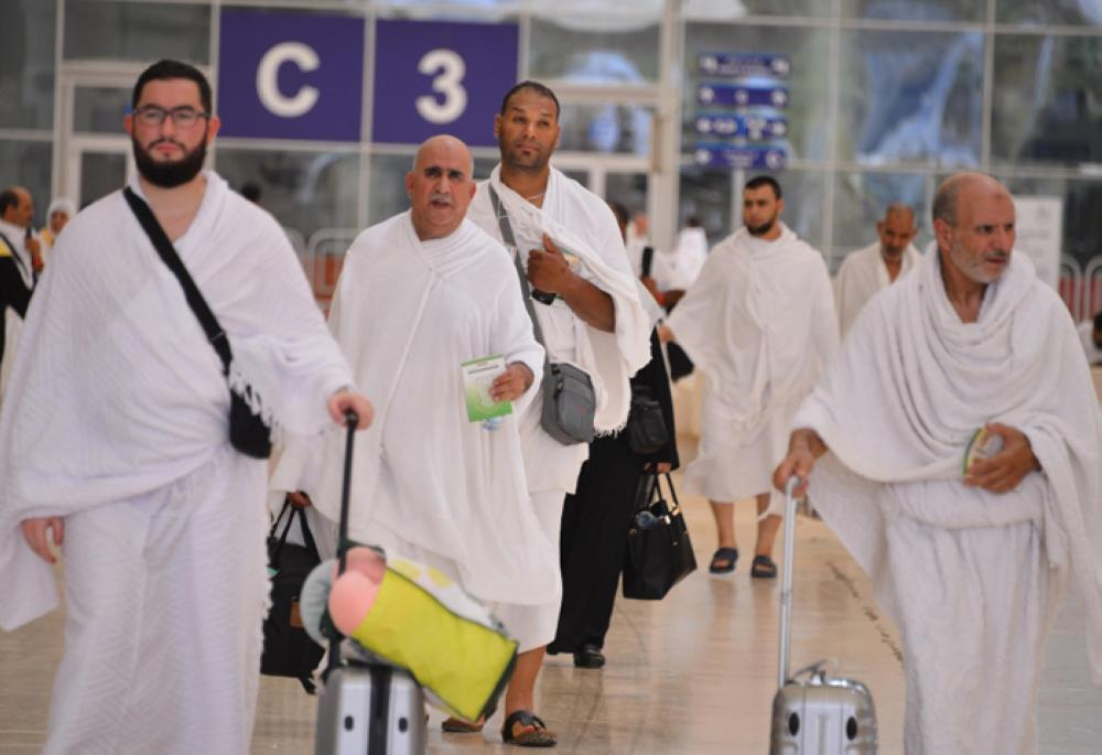 A total of 1.23 million pilgrims arrived and 1.21 million of them departed through King Abdulaziz International Airport (KAIA) in Jeddah since November when the Umrah season started. — SPA