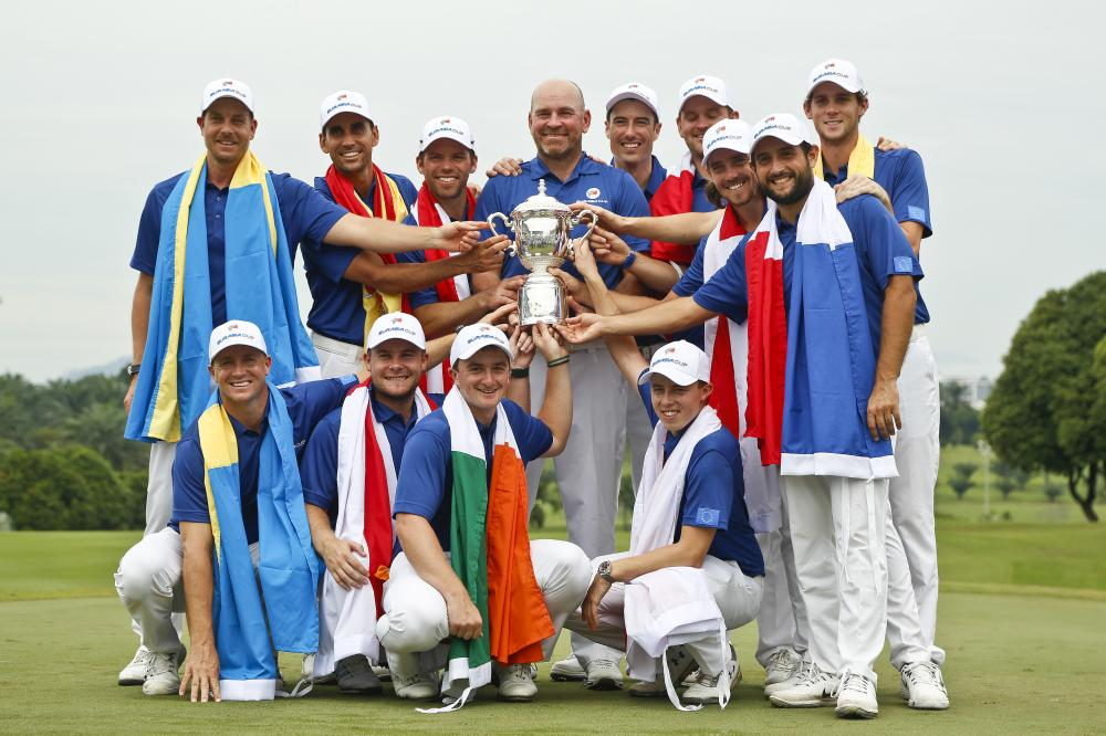 Team Europe Dominate Singles to Retain EurAsia Cup