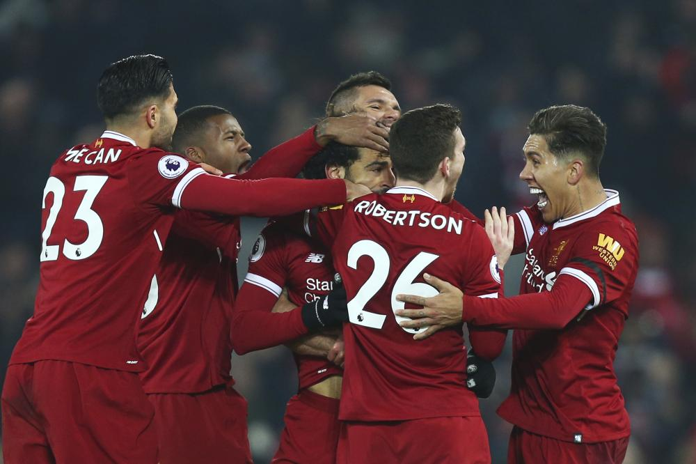 Liverpool hands Manchester City first EPL defeat