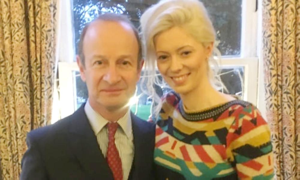 UKIP Leader Announces Split From Girlfriend After 'Racist Messages' Revelation