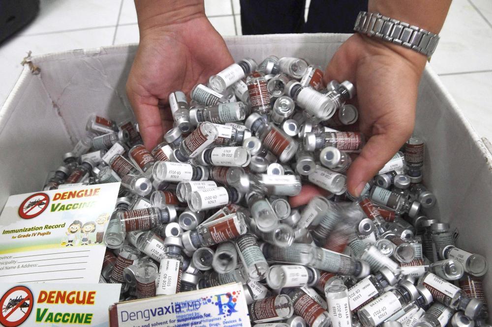Sanofi Pasteur agrees to refund P1.4 billion worth of unused Dengvaxia vaccines