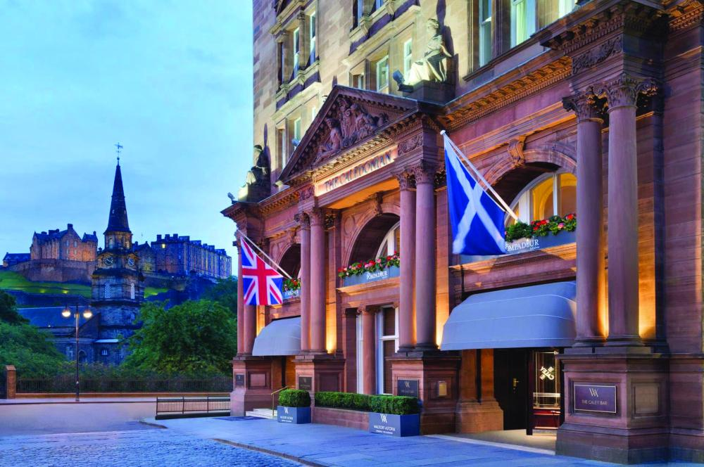 Top Edinburgh hotel plans expansion