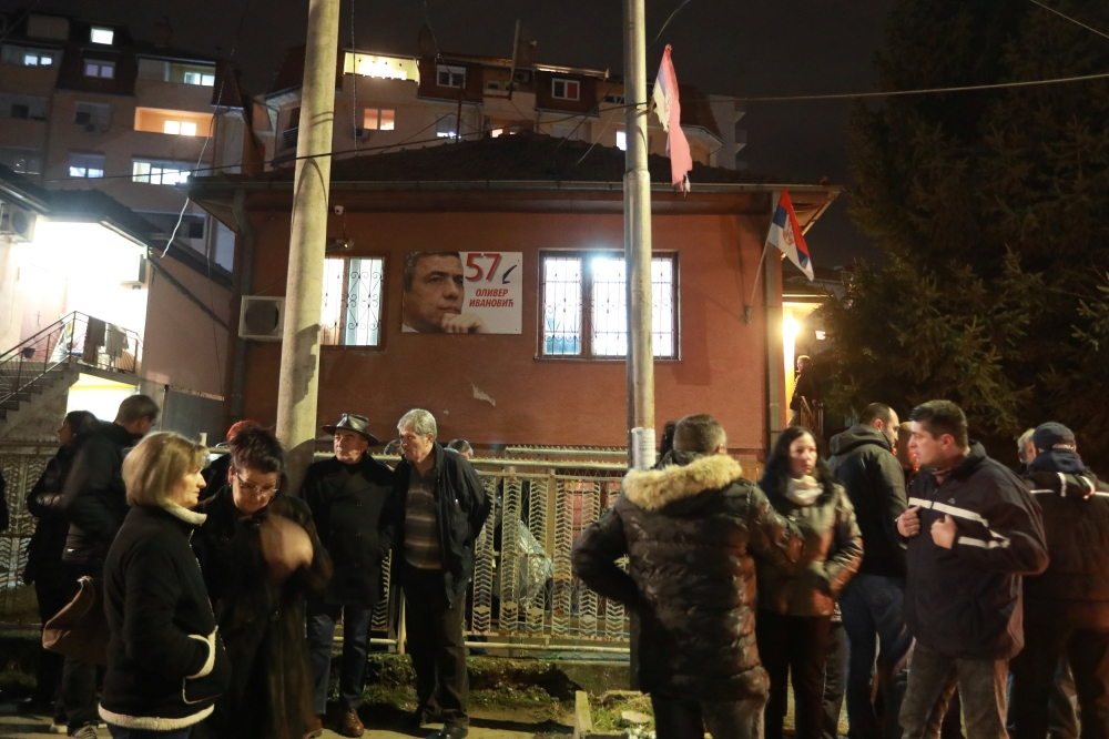 Thousands Mourn Slain Serb Leader In Kosovo