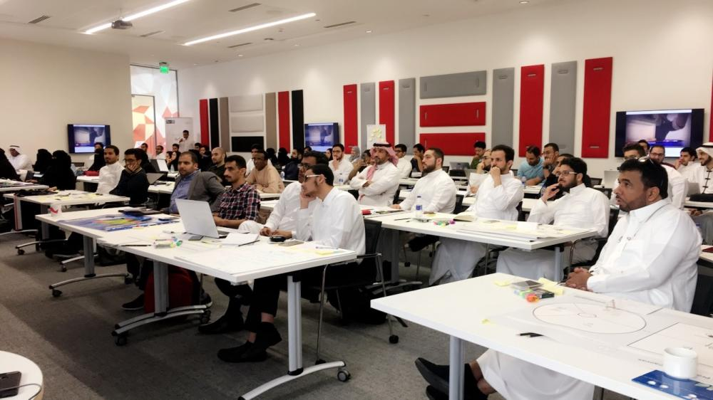 Participants in the MITEF Saudi Arabia Startup competition