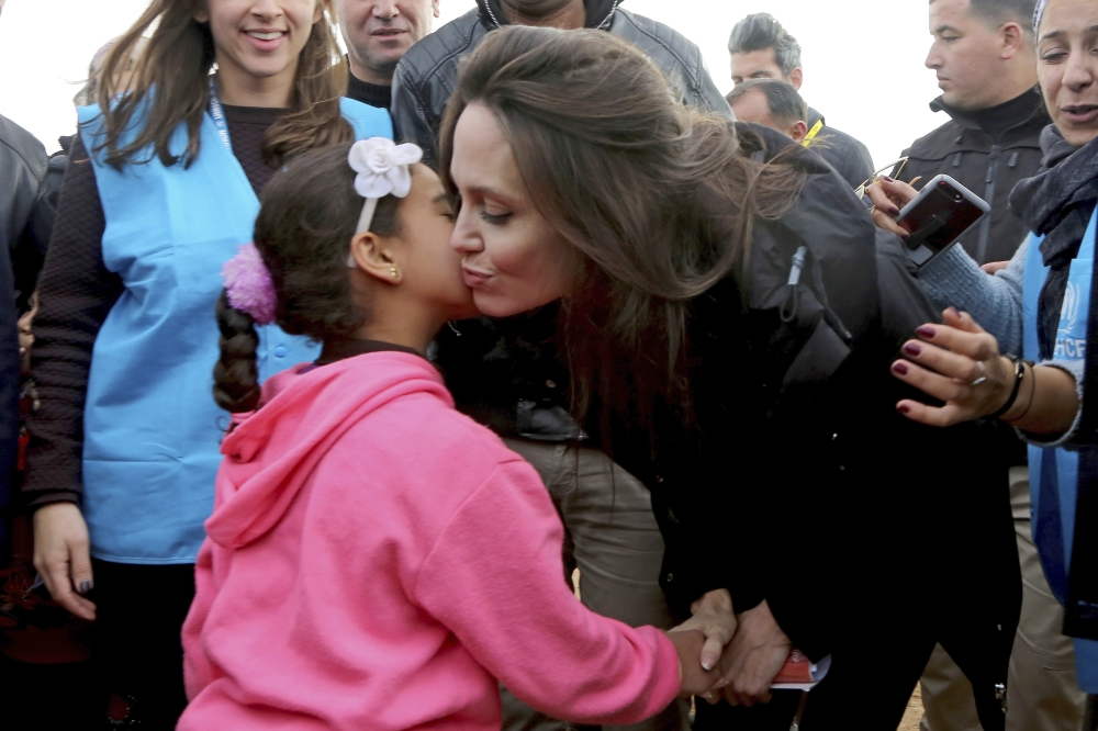 Angelina Jolie says respect for human rights key to Syria peace