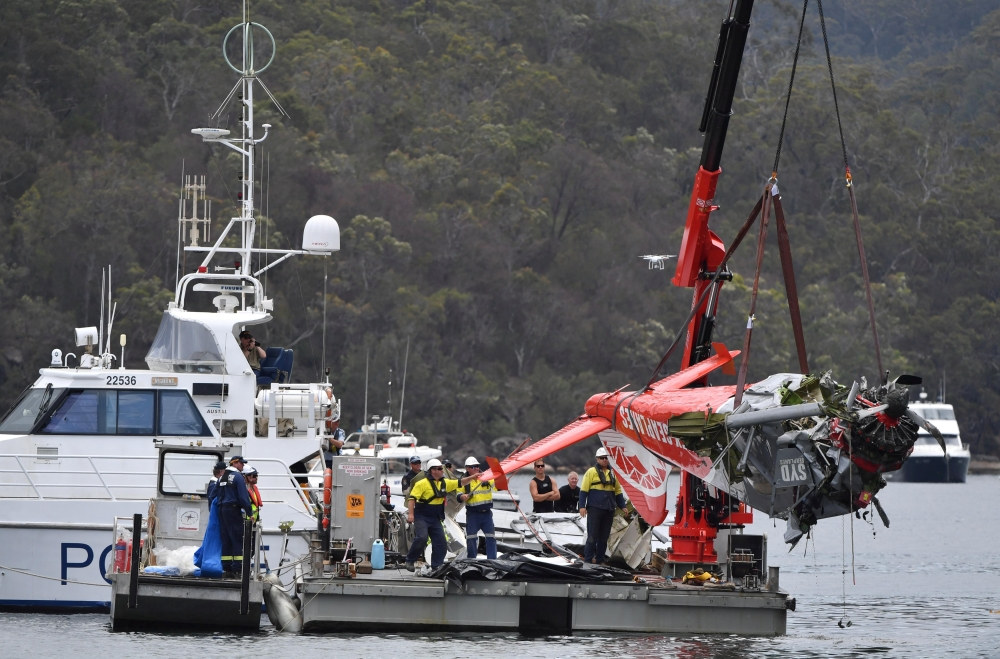 Seaplane not damaged but off course just before deadly crash