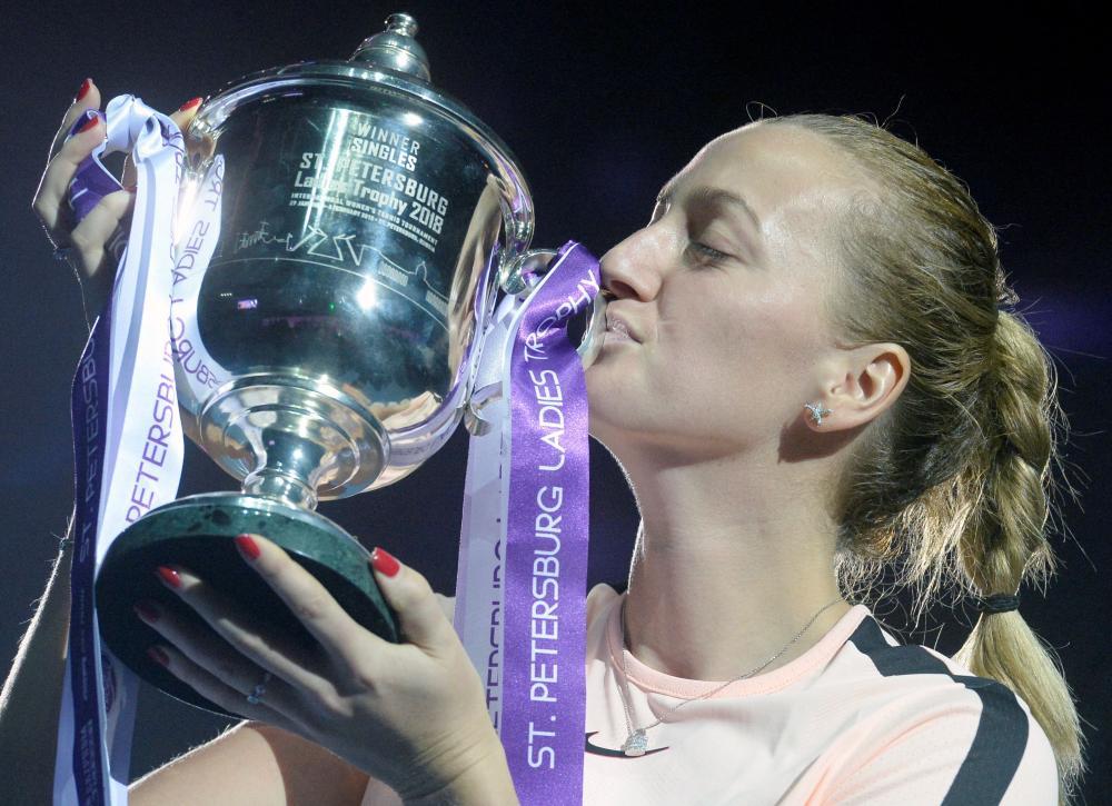 Mladenovic sets up final with Kvitova