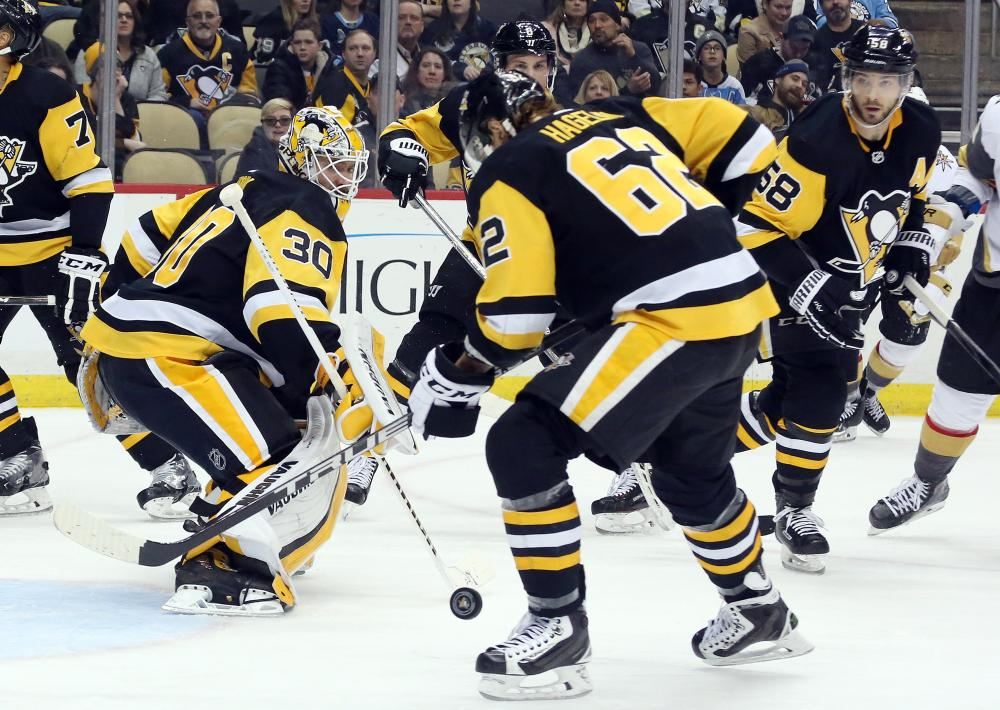 Marc-Andre Fleury has emotional return to Pittsburgh