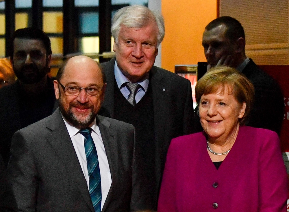 German coalition deal reached