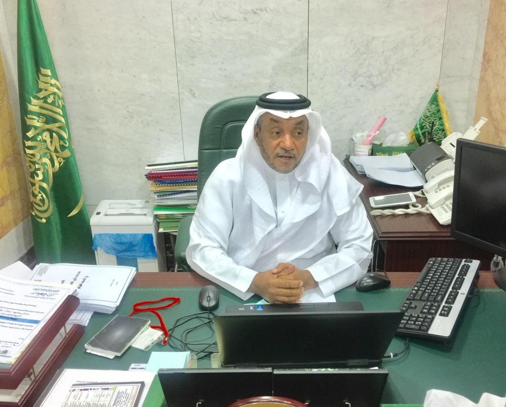 Dr. Misfer Asiri, director of social service at Presidency for the Affairs of the Two Holy Mosques.