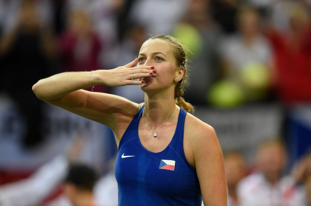 Fed Cup: Kvitova, Strycova put Czechs up 2-0