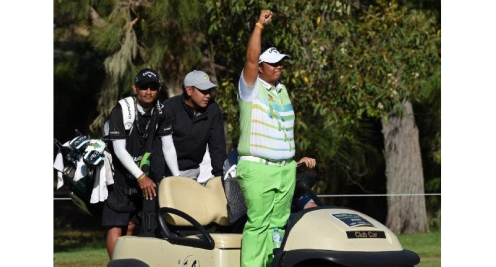 Kiradech Aphibarnrat wins Super 6 in Perth